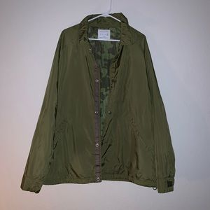 Army Green Men's Jacket